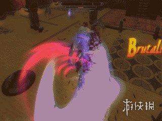 上古卷軸5:天際重制版(The Elder Scrolls V: Skyrim Special Edition)v1.1.53.0惡魔獵人戰鬥劍氣特效MOD