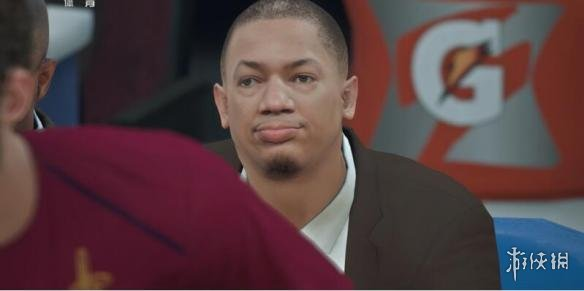 NBA 2K18(NBA 2K18)騎士主教練泰倫盧面補MOD