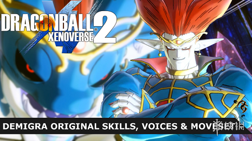 龍珠:超宇宙2(Dragon Ball Xenoverse 2)v1.08魔神原技能聲音人物MOD