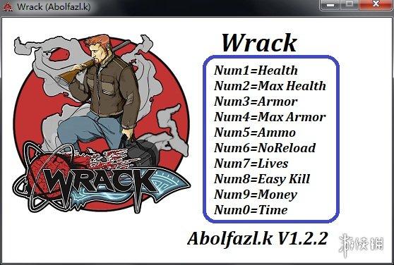 肆虐(Wrack)v1.2.2十項修改器Abolfazl.k版