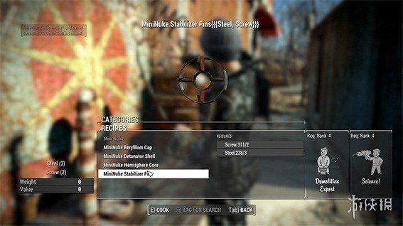 異塵餘生4(Fallout 4)迷你核彈武器MOD