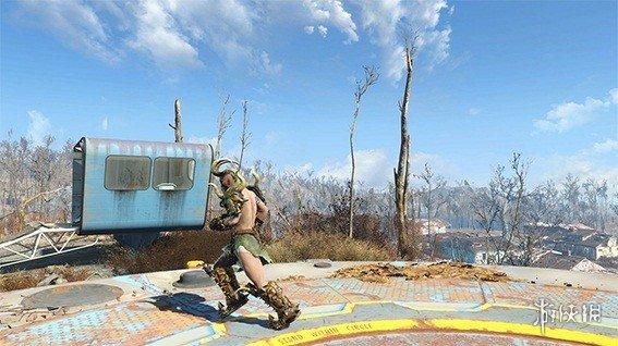 異塵餘生4(Fallout 4)荒地惡魔裝備武器套裝MOD