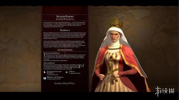 文明帝國6(Sid Meier's Civilization VI)v1.0.0.194五代領袖西班牙伊莎貝拉MOD