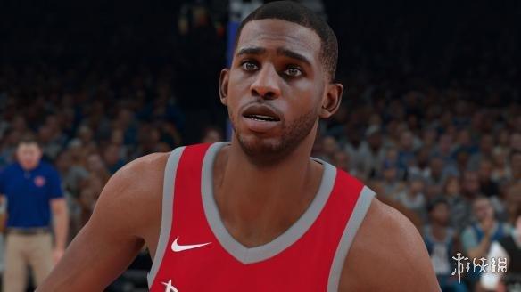 NBA 2K18(NBA 2K18)火箭球星保羅真實面補MOD
