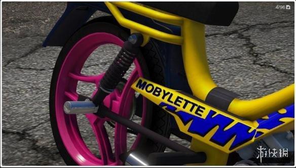 俠盜獵車手5(Grand Theft Auto 5)摩比萊特家用輕便摩托MOD(感謝會員kuangjian提供分享)