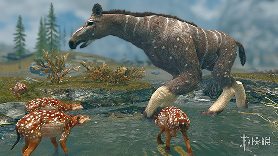 上古卷軸5(The Elder Scrolls V: Skyrim)石爪獸和始祖馬生物MOD