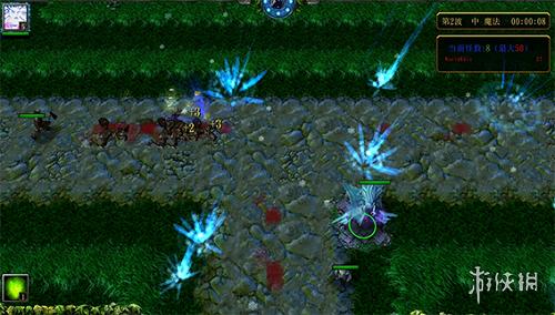 魔獸爭霸3冰封王座(Warcraft III The Frozen Throne)1.24綠色循環圈外傳 v4.61正式版