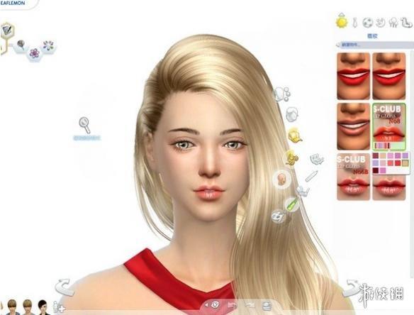 模擬市民4(The Sims 4)v1.31S-Club F08號淡蠟筆色啞光唇彩包MOD