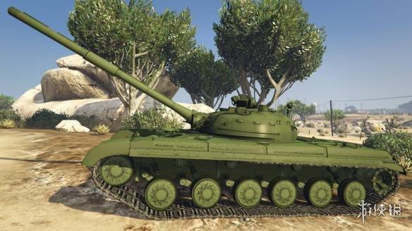 俠盜獵車手5(Grand Theft Auto 5)T64主戰坦克MOD(感謝會員kuangjian提供分享)
