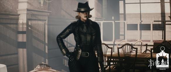 異塵餘生4(Fallout 4)西部風背帶女侍應特務服套裝包MOD