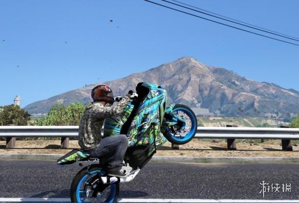 俠盜獵車手5(Grand Theft Auto 5)川崎250fi Stunter機車MOD(感謝會員kuangjian提供分享)