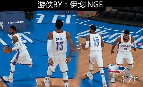 NBA 2K18(NBA 2K18)雷霆隊保羅喬治最新身形MOD
