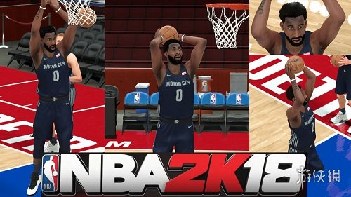 NBA 2K18(NBA 2K18)活塞隊莊神最新身形MOD