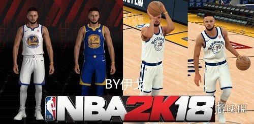 NBA 2K18(NBA 2K18)勇士隊斯蒂芬庫裡最新身形MOD