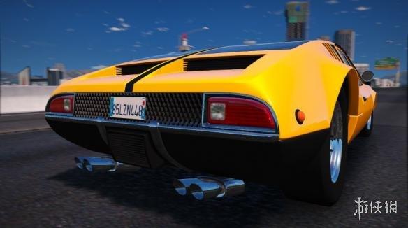 俠盜獵車手5(Grand Theft Auto 5)德·托馬索-曼古斯塔跑車MOD(感謝會員天武影視提供分享)