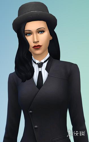 模擬市民4(The Sims 4)紳士正妹扎塔娜MOD