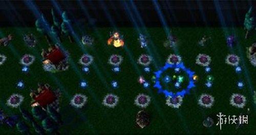 魔獸爭霸3冰封王座(Warcraft III The Frozen Throne)v1.24E火線對壘III邪靈要塞v1.2