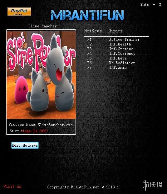 史萊姆牧場 v1.3.1c六項修改器MrantiFun版_史萊姆牧場修改器
