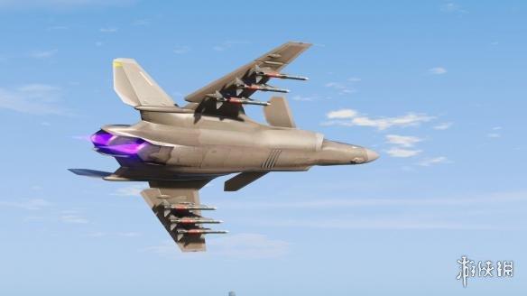 俠盜獵車手5(Grand Theft Auto 5)空戰奇兵ASF-X Shinden II戰鬥機MOD(感謝會員kuangjian提供分享)