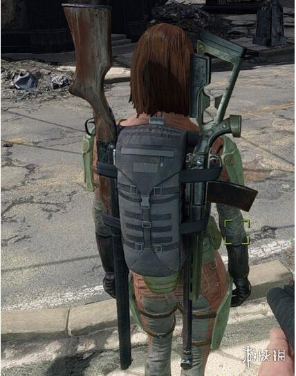 異塵餘生4(Fallout 4)帶各種武器的背包MOD