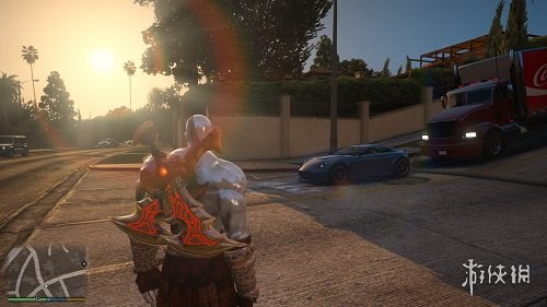 俠盜獵車手5(Grand Theft Auto 5)戰神奎爺大鬧洛聖都MOD