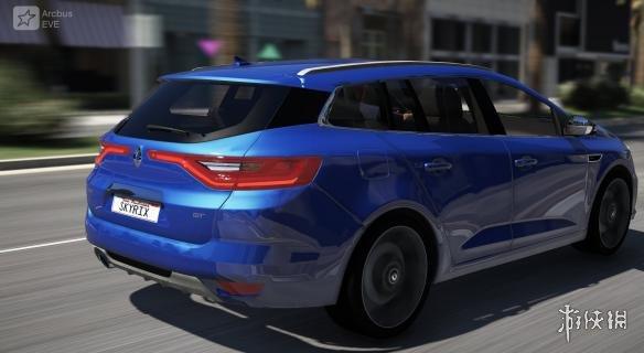俠盜獵車手5(Grand Theft Auto 5)2017款雷諾梅甘娜Estate GT旅行車MOD(感謝~夏娜~提供分享)