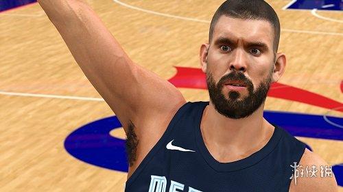 NBA 2K18(NBA 2K18)灰熊隊馬克蓋索身形面補MOD