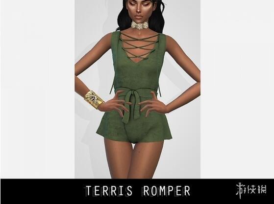模擬市民4(The Sims 4)20色夏季連衣裙MOD