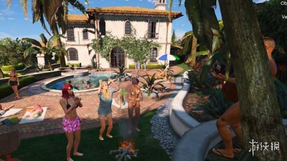 俠盜獵車手5(Grand Theft Auto 5)麥克泳池派對MOD(感謝會員reminiscence提供分享)