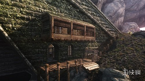 上古卷軸5:天際(The Elder Scrolls V: Skyrim)海濱孤獨橋上的家MOD