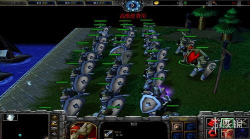 魔獸爭霸3冰封王座(Warcraft III The Frozen Throne)1.24e小鎮暗鬥 v8.3.0