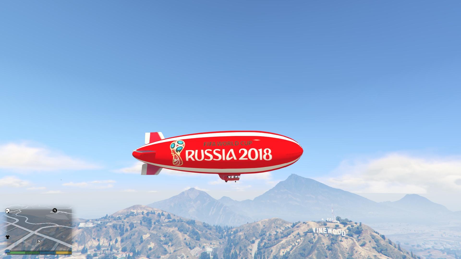 侠盗猎车手5 2018俄罗斯世
