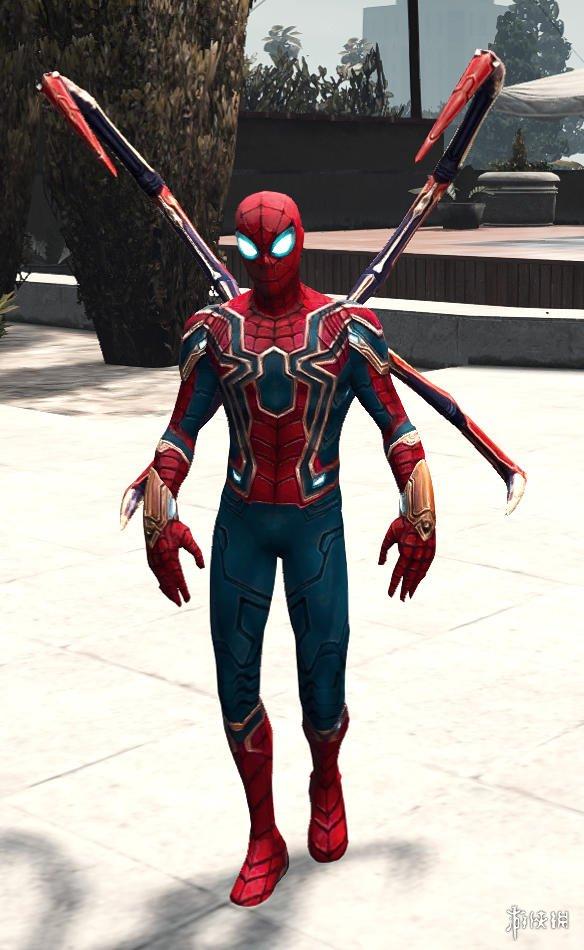 俠盜獵車手5(Grand Theft Auto 5) 鋼鐵蜘蛛人處理v2.0 MOD