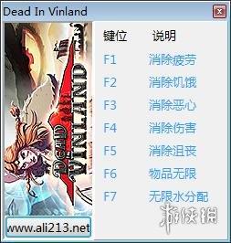 死在文蘭(Dead In Vinland)v1.11七項修改器[更新1]