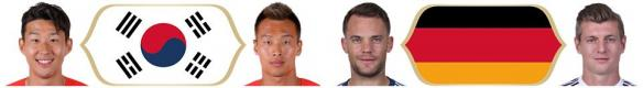 世界足球競賽2018(Pro Evolution Soccer 2018)最新德國與南韓臉譜補丁