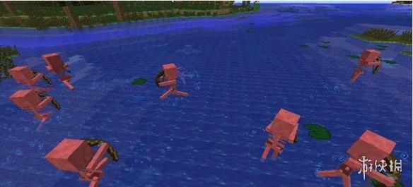 Minecraft我的世界(Minecraft)v1.7.2怕水骷髏MOD