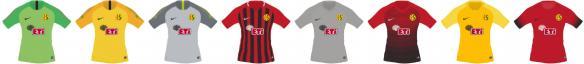 世界足球競賽2018(Pro Evolution Soccer 2018)最新賽季愛斯基摩隊球衣補丁