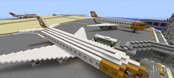 Minecraft我的世界(Minecraft)v1.8.9沙漠城市地圖MOD