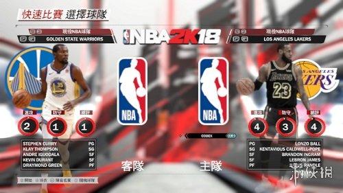 NBA 2K18(NBA 2K18)最新的湖人轉會名單MOD