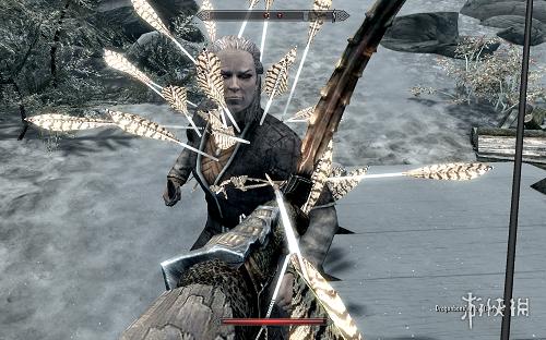 上古卷軸5:天際(The Elder Scrolls V: Skyrim)更多可見的箭頭和螺栓MOD