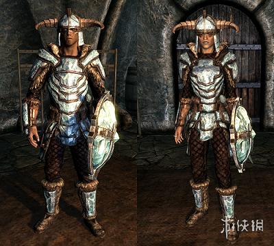 上古卷軸5:天際(The Elder Scrolls V: Skyrim)沉重外表的重型盔甲MOD