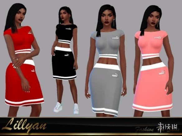 類比市民4(The Sims 4)頂級塞爾瑪運動套裙裝MOD