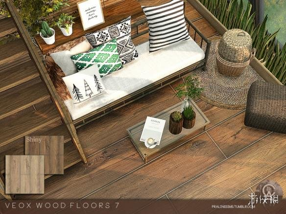 類比市民4(The Sims 4)VEOX木地板MOD