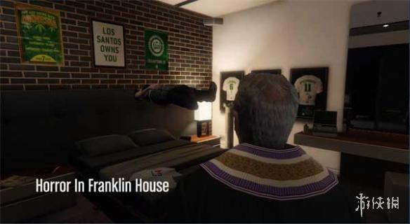 俠盜獵車手5(Grand Theft Auto 5)富蘭克林恐怖之傢MOD(感謝遊俠會員reminiscence提供分享)