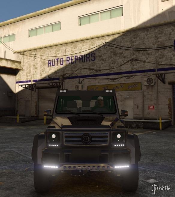 俠盜獵車手5(Grand Theft Auto 5)賓士G500越野車MOD(感謝遊俠會員~夏娜~提供分享)