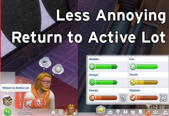 類比市民4(The Sims 4) V20180929不那麼惱人的回歸MOD