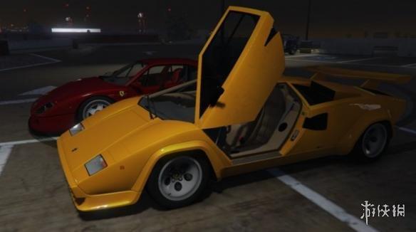 俠盜獵車手5(Grand Theft Auto 5)蘭博基尼Countach QV5000超跑\MOD(感謝遊俠會員雨文冰璃提供分享)