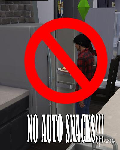 類比市民4(The Sims 4)V20181022沒有自動搶速食MOD