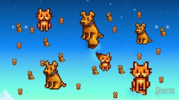 星露谷物語(Stardew Valley)無限的貓貓狗狗MOD