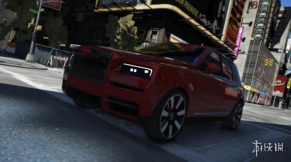 俠盜獵車手5 2019款勞斯萊斯Cullinan越野車MOD(感謝遊俠會員kuangjian提供分享)_俠盜獵車手5遊戲MOD